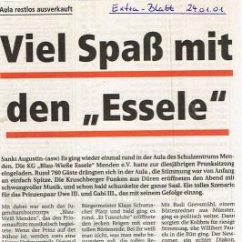 Extrablatt 24.01.2001