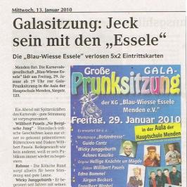 Extrablatt 13.01.2010