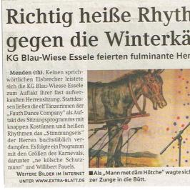 Extrablatt 16.01.2010