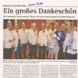 Extrablatt 15.12.2010