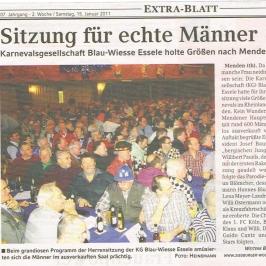 Extrablatt 15.01.2011
