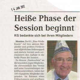 Extrablatt 14.01.2012
